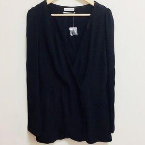 Urban Outfitters Black Cardigan/Blazer (M)